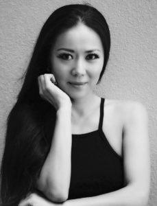 Asian model in Hawaii
