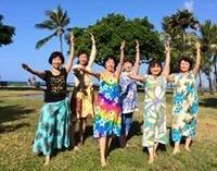 ハワイでビーチフラクラス